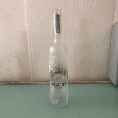 Bottiglia Belvedere vuota