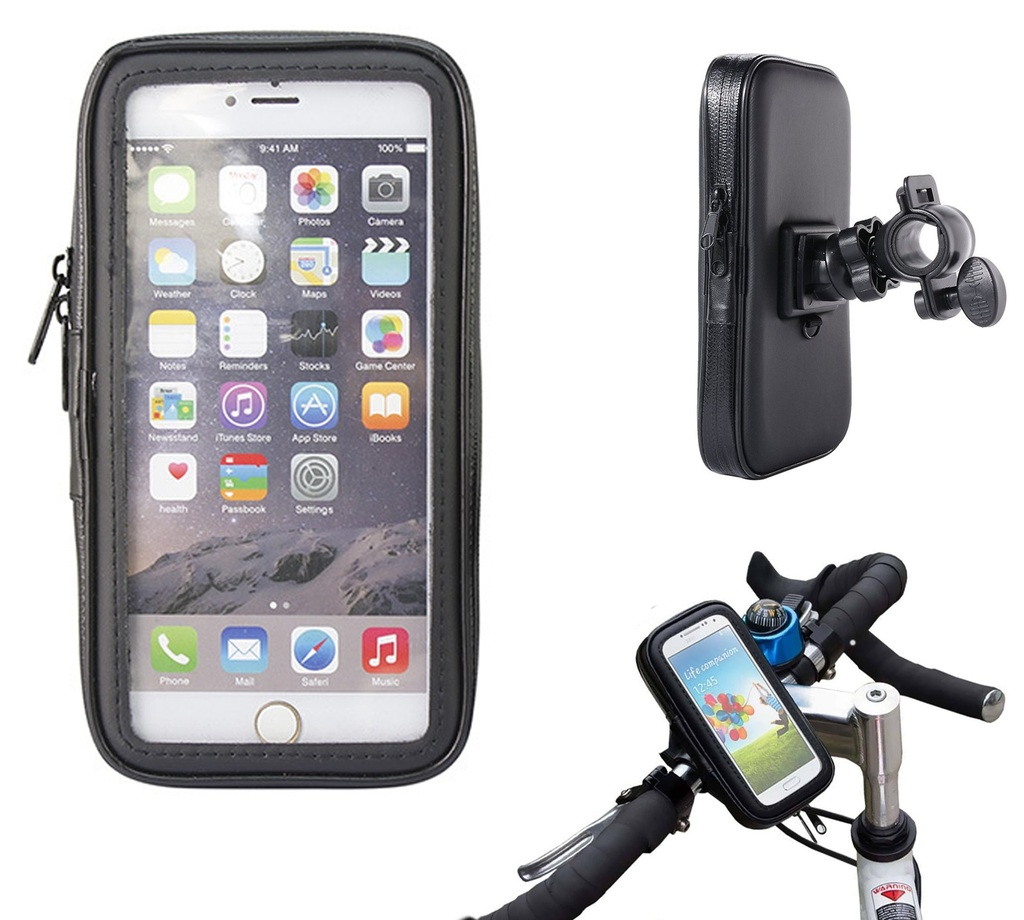 Supporto per bici e moto porta cellulare custodia borsa - Porta bici smart ...